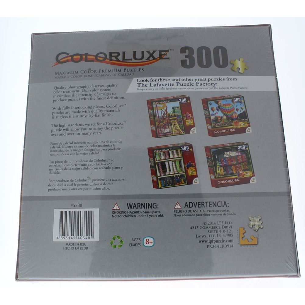 Colorluxe 300 PC Piece Puzzle Larger Uniqued Shapes Albuquerque Balloon Fiesta