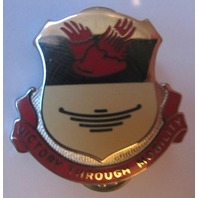 Wwii Issue Dui Pin 26Th Support Battalion Pin Victory Through Mobility Transport