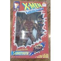 1994 10-Inch X-Men Metallic Mutants Sabretooth Deluxe Edition Action Figure Mib