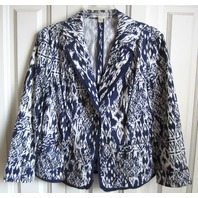 Coldwater Creek Cool Cruiser Blazer Jacket Womens Sz 14 Fall Winter