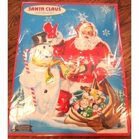 Vintage Santa Claus Frame Tray Puzzle Whitman Publishing No. 4424 Christmas