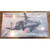 Revell Snap-Tite Ah-64 Apache Helicopter 1:72 Scale New Sealed