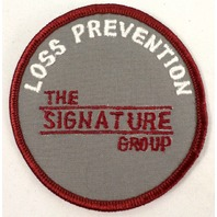 Loss Previntion The Signature Group  Uniform Patch #Msrd