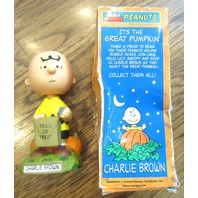 Funko Charlie Brown Wacky Wobblers Bobble-heads The Great Pumpkin Halloween Box