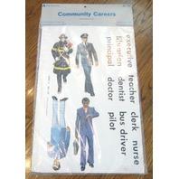 Teacher Resource: Nip Judy / Instructo Community Careers Flannelboard Aid Jobs