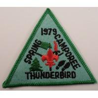 Bsa Boy Scout Uniform Patch Thunderbird Fall 1979 Camporee