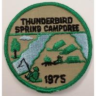 Bsa Boy Scout Uniform Patch 1975 Thunderbird Spring Camporee