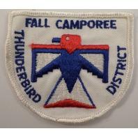 Bsa Boy Scout Uniform Patch Fall Camporee Thunderbird District