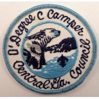 Bsa Boy Scout Uniform Patch Zero 0 Degree Camper Central Georgia Council
