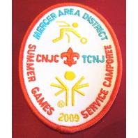Bsa Boy Scout Uniform Patch Bsa Mercer Area District Summer Games 2009 Camporee