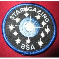 Bsa Boy Scout Uniform Patch Bsa Star Gazing Award