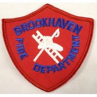 Brookhaven Fire Department Dept Uniform Patch #Fd-Rd