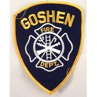 Goshen Fire Department Uniform Patch #Fd-Yl