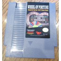 Vintage Wheel Of Fortune Nintendo Game Cartridge