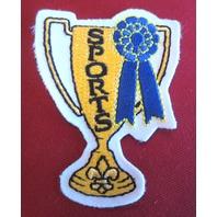 Bsa Boy Scout Uniform Patch Bsa Sports Trophy Cup Award