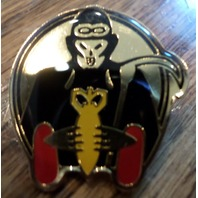 Bomber Airforce Pin With Sithe Hat Lapel Pin