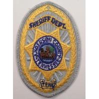 Sheriff Department Ahoerson County Tenn Uniform Patch #Pd-Gy