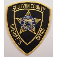 Sullivan County Sheriff'S Office Uniform Patch #Pd-Yl