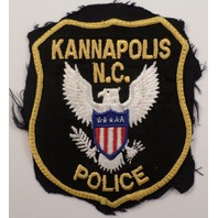 Kannapolic N.C. Police Uniform Patch #Pd-Yl