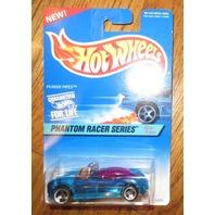 1997 Hw #531 Phantom Racer Power Pipes Blue 3Sp Moc