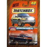 Matchbox '68 Mustang Cobra Jet #40/75 1997 Mip