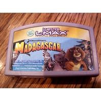 Leapster Leap Frog L Max Madagascar Game