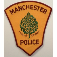 Manchester Police Uniform Patch #Pd-Rd