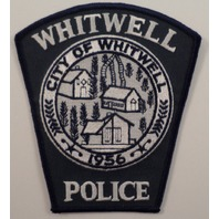 City Of Whitwell Police Uniform Patch #Pd-Bl