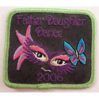 Father Daughter Dance 2006 Girl Scout Uniform Patch