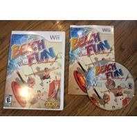 Beach Fun: Summer Challenge  (Wii, 2010) Game