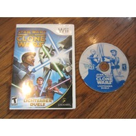 Star Wars: The Clone Wars - Lightsaber Duels  (Wii, 2008)