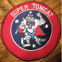 Us Navy Patch Vf-24 Super Tomcat Uniform Patch