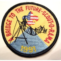 Bsa Boy Scout Uniform Patch A Bridge To The Future Scout-O-Rama 1991