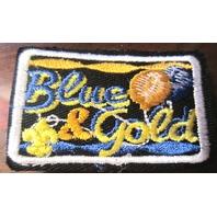 Uniform Patch Boy Scout Bsa Blue And Gold Celebration Fleur Di Lis Balloons