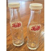 Drink Pepsi-Cola Glass Salt & Pepper Shakers