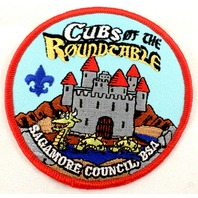 Bsa Boy Scout Uniform Patch Cubs Of The Round Table Sagamore Council #Bsrd
