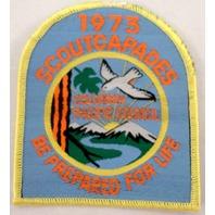 Bsa Boy Scout Uniform Patch 1973 Scoutcapades Columbia Pacific Council   #Bsyl