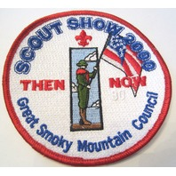 Scout Show 2000 Then Now Great Smokey Mtns Oversized Bsa Boy Scout Uniform Patch