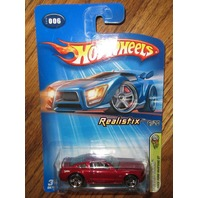 Hot Wheels 2005 #006 Realistix Ford Mustang Gt 6/20 New
