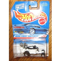 Hot Wheels Mattel Hot Seat #13 Of 40 Moc 1998 1St Edit.
