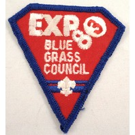 Uniform Patch Boy Scout Bsa Expo 83 Blue Grass Council  #Bsbl