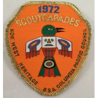Uniform Patch Boy Scout Bsa1972 Scoutcapades Columbia Pacific Council #Bsgd