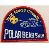 Uniform Patch Boy Scout Bsa Blue Grass Council Polar Bear Swim #Bsrd