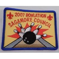 Uniform Patch Boy Scout Bsa 2007 Bowlathon Sagamore Council #Bsbl