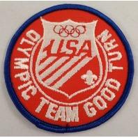 Uniform Patch Boy Scout Bsa Olympic Team Good Turn Usa #Bsbl