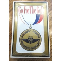 Go For The Gold New Mib Marriott 50Th In-Flight Service Playing Deck Of Cards