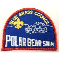 Boy Scouts Uniform Patch Bsa Blue Grass Polar Bear Swim Gulf Stream  #Bsrd