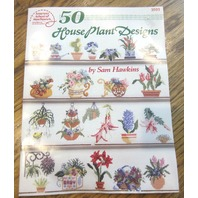 Counted Cross Stitch Patterns Lot Of Leaflets Designs House Plant Spring Samples