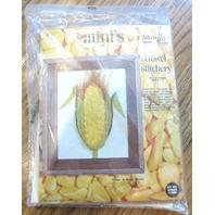 """Mini'S By Quinella Cross Stitch 4"""" X 5"""" #02686X Corn New Sealed In Plastic"""