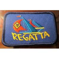 Uniform Patch Boy Scout Bsa Network Cub Scout Regatta Sail Boat Wolf Navy